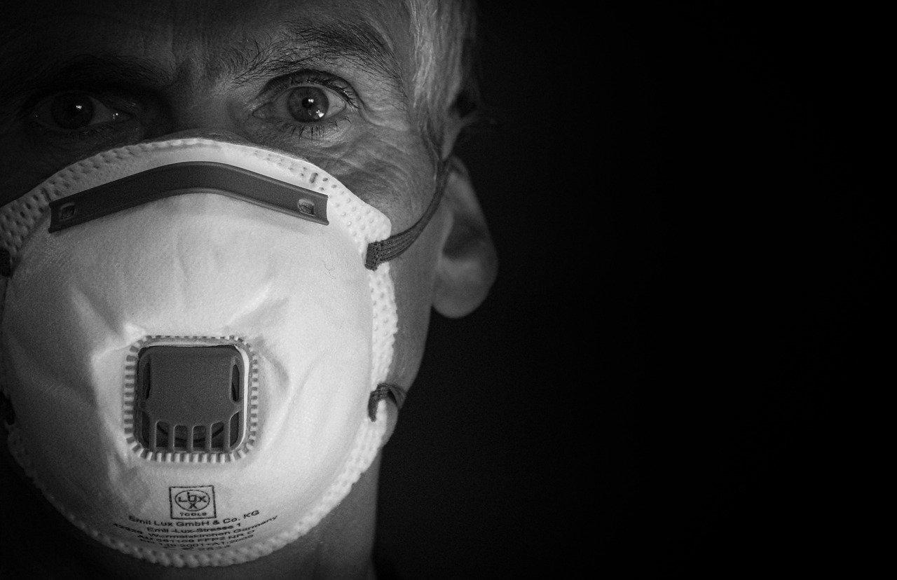 masca de pandemia