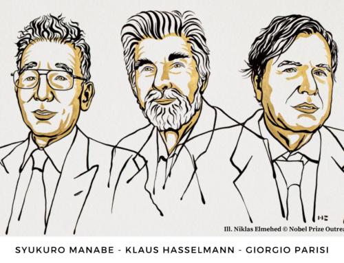 Premio Nobel de Física 2021. Syukuro Manabe, Klaus Hasselmann y Giorgio Parisi